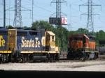 BNSF 2631 & 2135