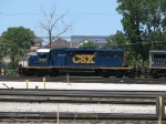 Freshly painted CSX 8150