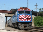 METX 201 leads another westbound Dinky