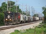 M337 starts pulling westbound for Iowa