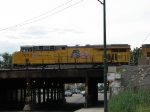 UP 7892 waits over Western Ave