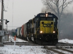CSX 8789 & 8157 rolling down the B&OCT with Q368