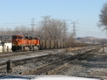 BNSF 5820 & 6082 rolling west down the B&OCT with E943-15