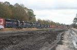 30+ locomotives stored