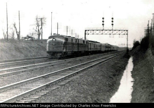 "Balitmore & Ohio's ""Capitol Limited"""