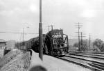 N&W Work train behind Z1b 2-6-6-2