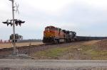 BNSF 4892 & NS 9508