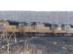 UP 4365 #2 power in an EB doublestack at 3:51pm