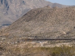 UP 5299 leads a special (STUVN) EB towards El Paso at 1:36pm