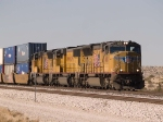 UP 4810 leads an EB doublestack (KCIAT - City of Industry CA to Atlanta) at 3:27pm