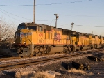 UP 4791 leads MEWTU (Englewood, TX - Tucson) at 4:45pm