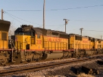 UP 3511 #2 power in MEWTU (Englewood, TX - Tucson) at 4:45pm