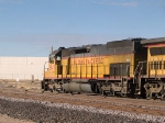 UP 2845 leads a WB doublestack into Alfalfa yard at 3:45pm