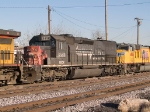 GECX 856 #2 power in a WB manifest (MFWWC - Fort Worth to West Colton) into the Alfalfa yard at 4:16pm