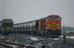 BNSF 5434 in the Grain Yard