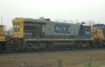 CSXT 5894 on a nb Manifest