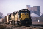 CNW freight in KC