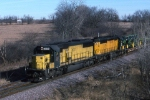 CNW southbound on the Spine Line