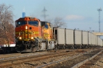BNSF 4372 with an empty CEFX train headed back to PRB.