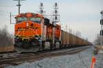 BNSF 5899 w/loaded DEEX coal train via IHB at 87th street.