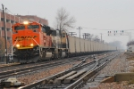 BNSF 9372 w/loaded CEFX hopper for the CSX