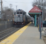 #1174 departing for Hoboken via Bergen Line
