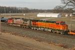 BNSF 5316 on CSX Q371-30