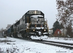 NS H67 East in the snow