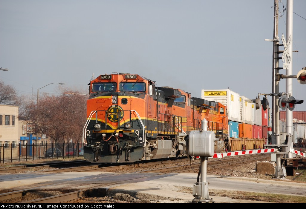 BNSF 980, 5010 & 5097