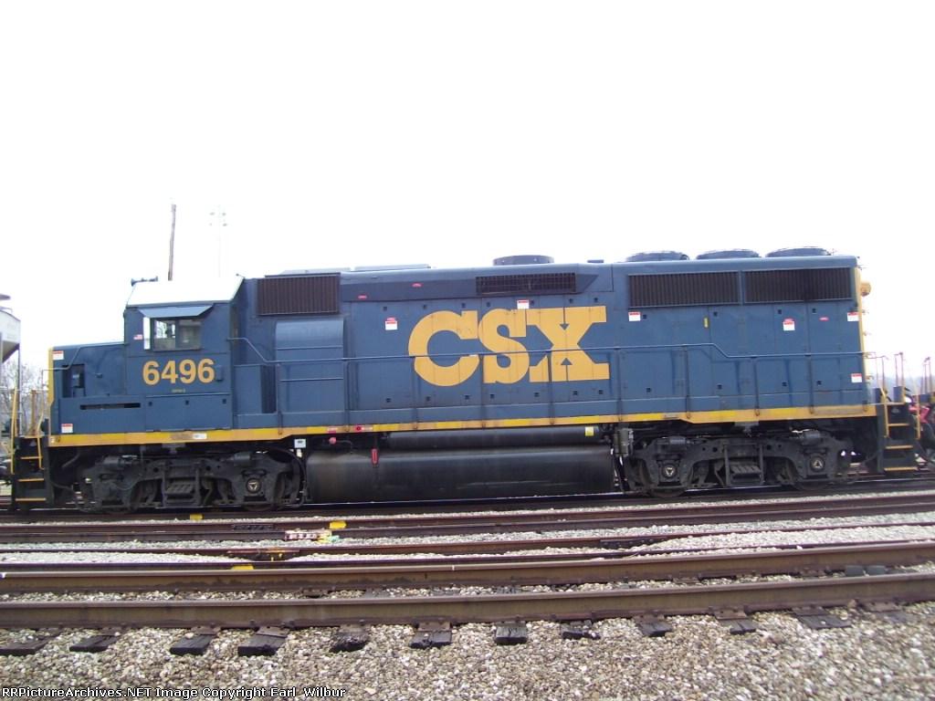 CSX #6496