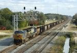 Ballast train with YN3 leader