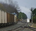 Coal train heads for the green (and blue!)