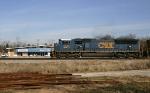CSX 4715 passes the Dixie Doodle