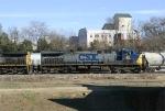 Southbound hopper train departs