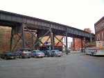 C&O's elevated line
