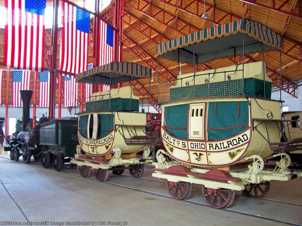 B&O's Lafayette and train