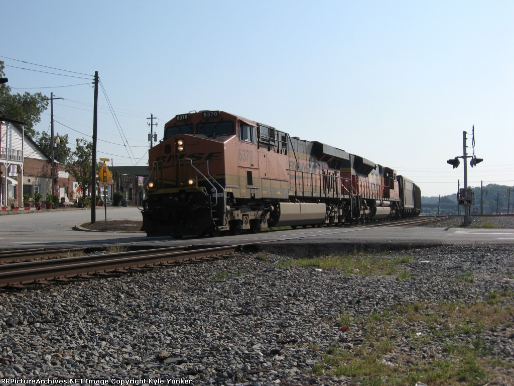 NB empty Scherer coal train