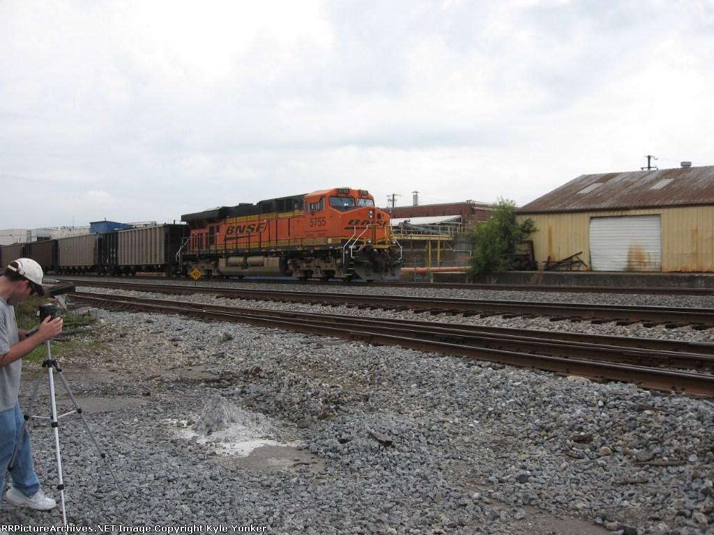 BNSF DPU & fellow railfan Allen Green