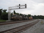 WB 1 car long intermodal 