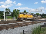 WB light engine move with an ex CNW SD60 leading