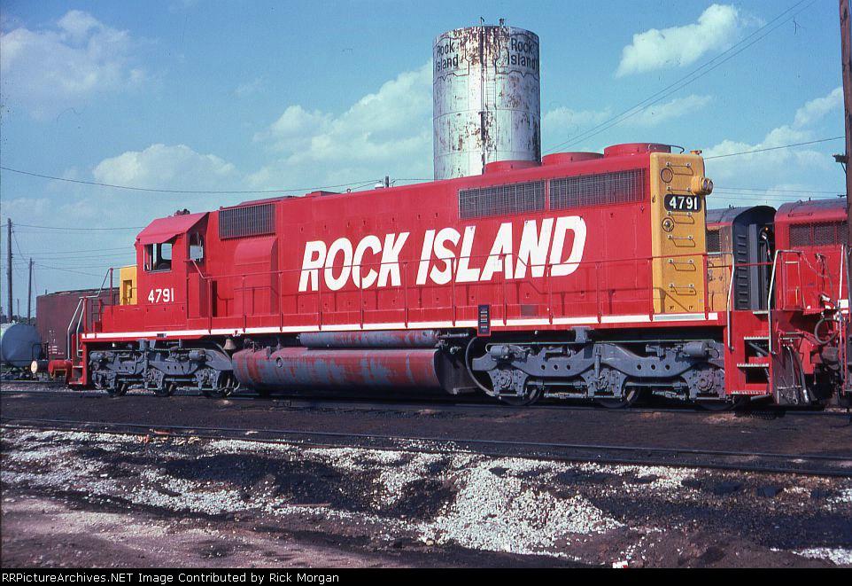 Rock Island SD40-2 4791