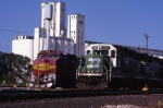 Grain and Trains