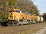 E949-16 rolls south as autumn continues to take hold