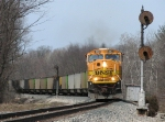 E950-04 rolls west through the Helper signals