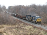 CSX 5494 & 563 start west through the Cash Block with Q335-09
