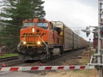 BNSF 703 powers E260 east