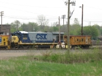 CSX 5535 sitting with CO 904143