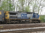 CSX 9014 waiting to go east with D717