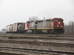 CN 2437 & 2597 lean through the curve with M396