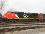 CN 2597 with fairly fresh paint